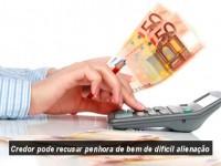 Terceira Turma confirma que credor pode recusar penhora de bem de difícil alienação