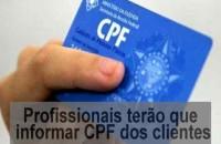 IR: profissionais liberais deverão informar CPF de clientes atendidos