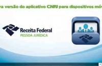 Receita Federal lança nova versão do aplicativo CNPJ para dispositivos móveis