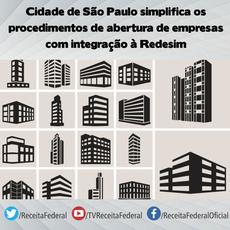Cidade de São Paulo simplifica os procedimentos de abertura de empresas com integração à Redesim