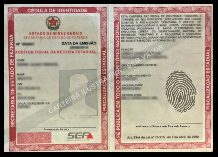Fazenda de Minas Gerais dá dicas de como identificar fiscal da Receita Estadual e se prevenir contra estelionatários